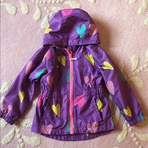 Cat & Jack toddler girls raincoat